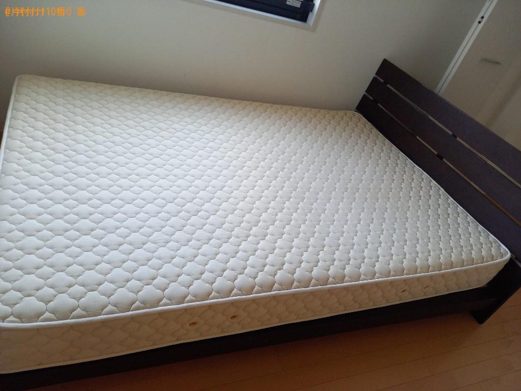 【田川市】シングルベッドマットレスの出張不用品回収・処分ご依頼