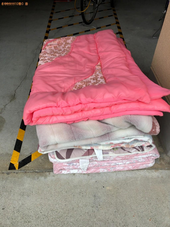 【東温市】布団・毛布の出張不用品回収・処分ご依頼 お客様の声