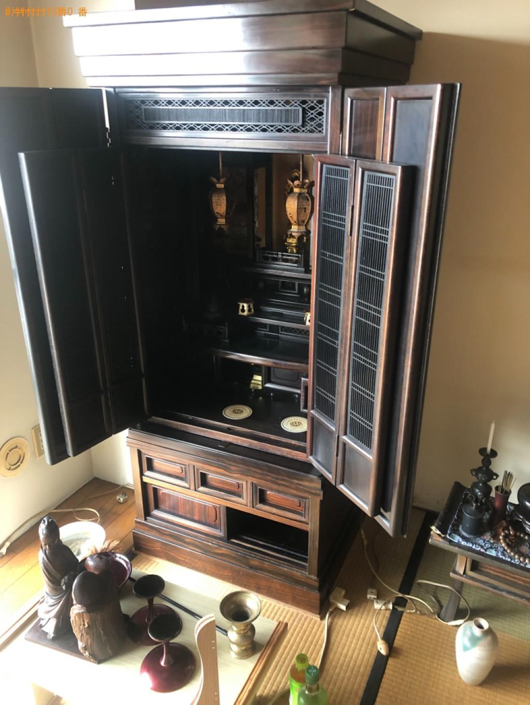 【北九州市八幡東区】仏壇・仏具の出張不用品回収・処分ご依頼