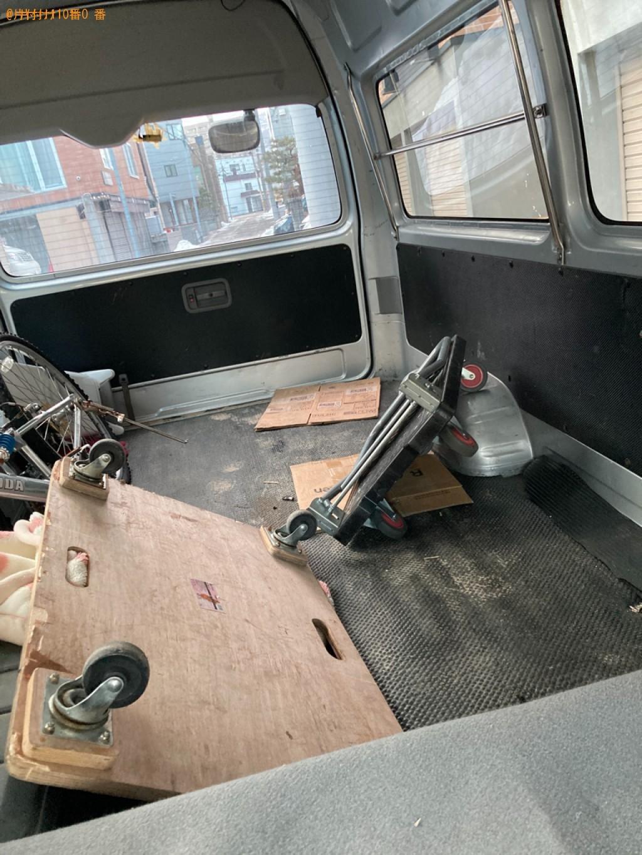 【札幌市】170L未満冷蔵庫の出張不用品回収・処分ご依頼