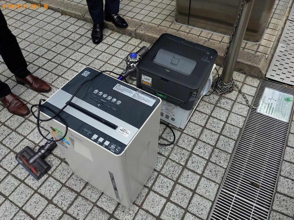 【大阪市北区】電化製品などの出張不用品回収・処分ご依頼