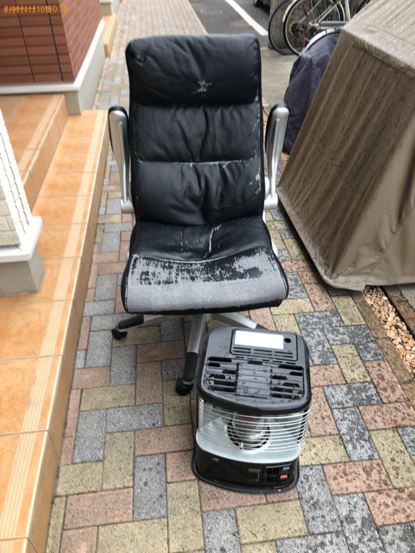 【下松市瑞穂町】椅子とストーブの出張不用品回収・処分ご依頼