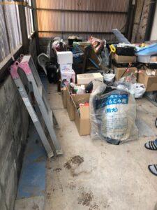 【防府市】トラックパックでの出張不用品回収・処分ご依頼