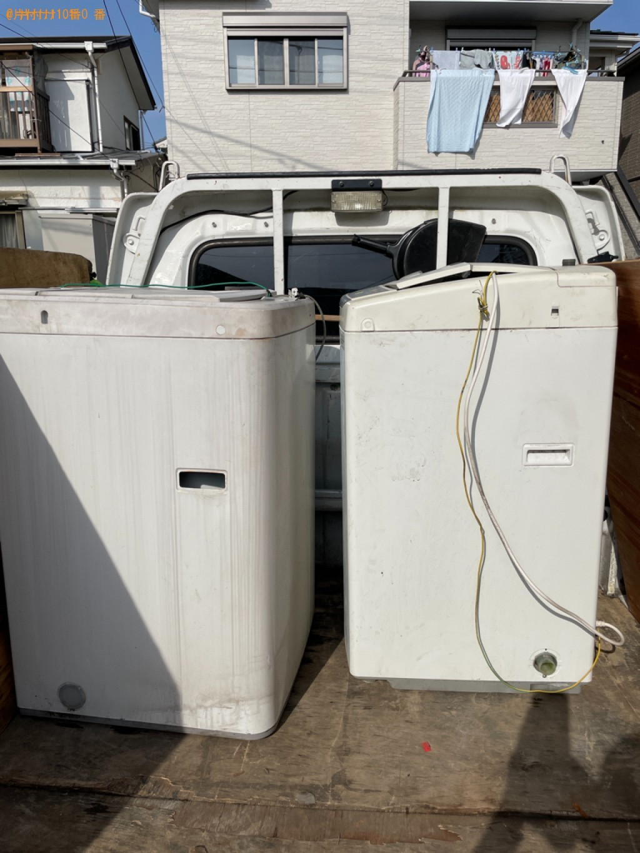【横浜市金沢区】洗濯機の出張不用品回収・処分ご依頼 お客様の声