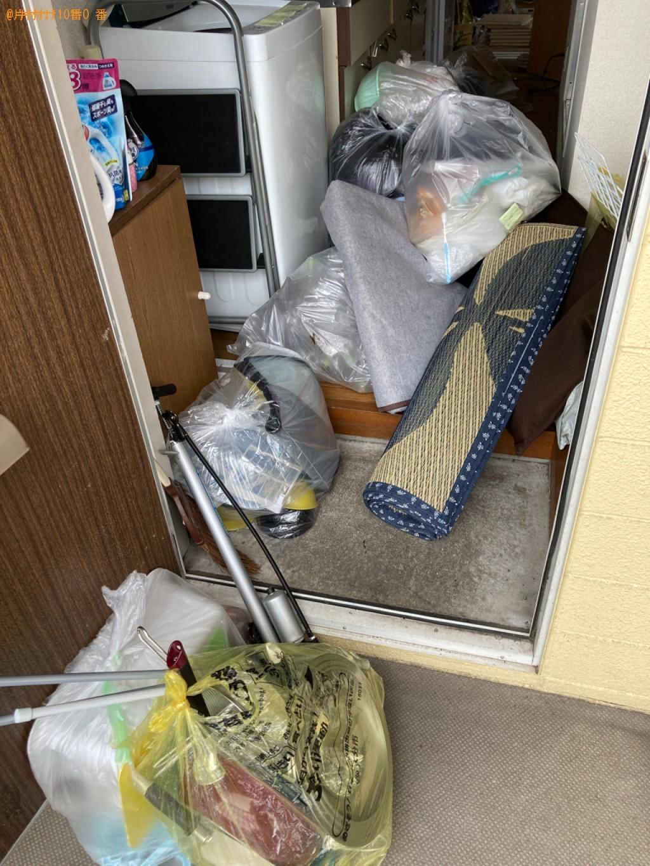 【大分市】トラックパックでの出張不用品回収・処分ご依頼