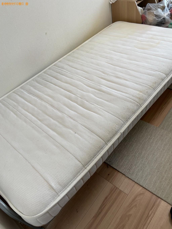 【横浜市神奈川区】シングルベッドの出張不用品回収・処分ご依頼