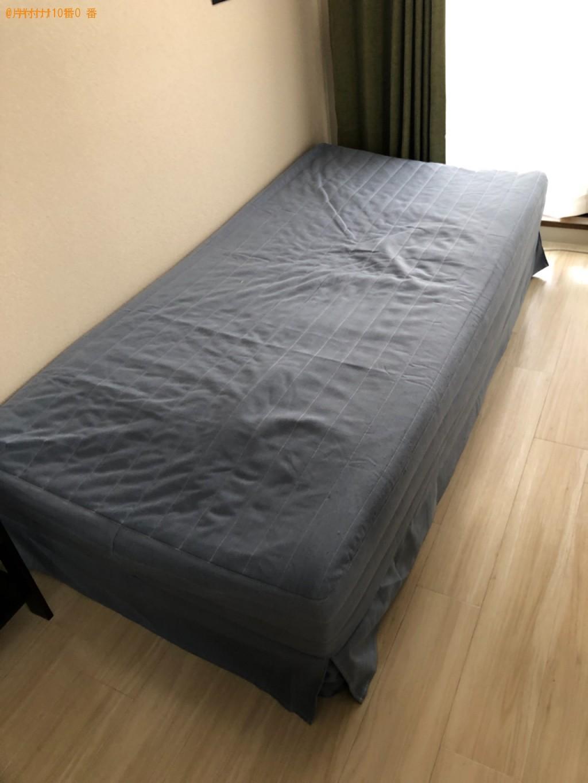 【宇治市小倉町】シングルベッドの出張不用品回収・処分ご依頼