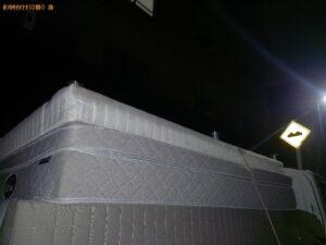 【千葉市中央区】セミダブルベッドの出張不用品回収・処分ご依頼