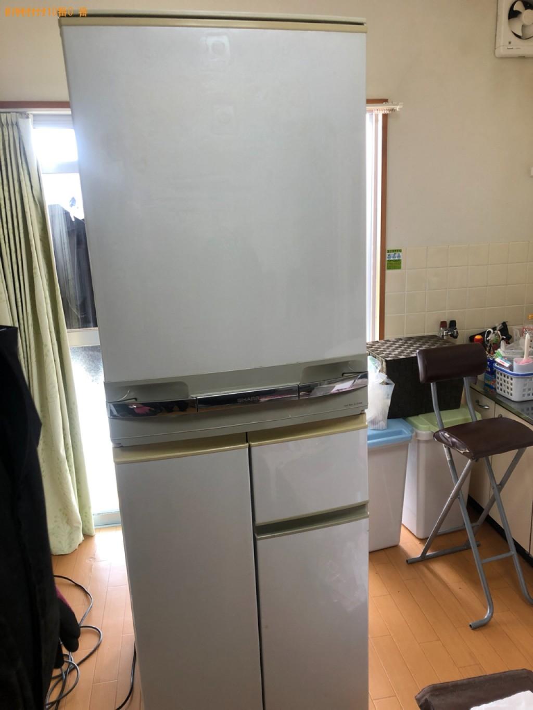 【宇部市北小羽山町】冷蔵庫の出張不用品回収・処分ご依頼