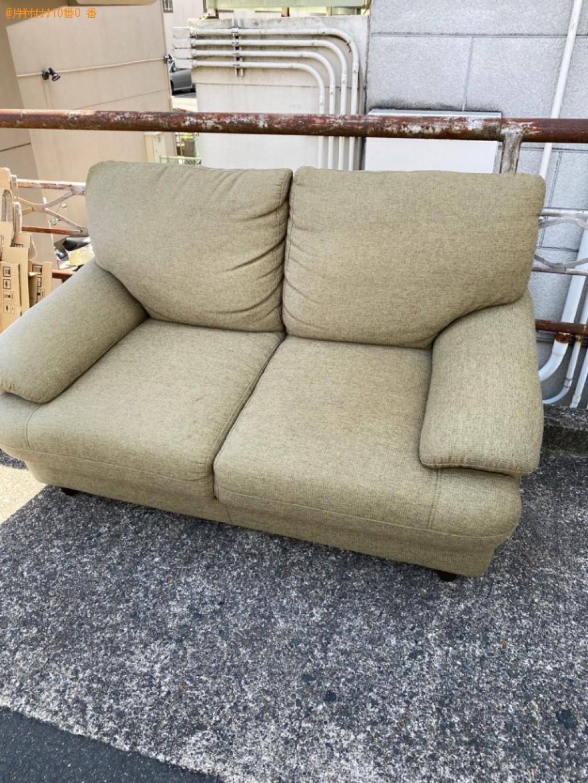【京都市右京区】ソファーの出張不用品回収・処分ご依頼 お客様の声