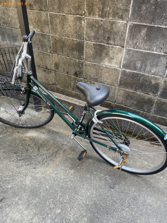 【京都市西京区】自転車の出張不用品回収・処分ご依頼 お客様の声