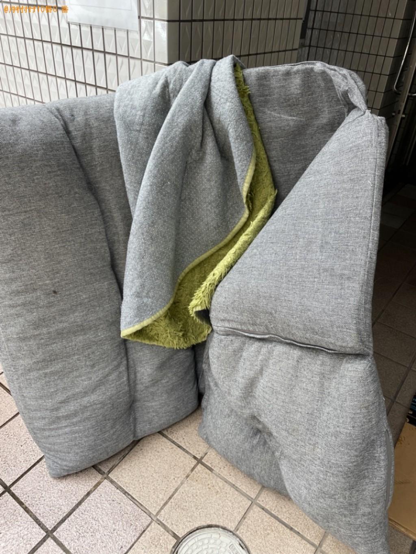 【京都市下京区】ソファーベッドなどの出張不用品回収・処分ご依頼