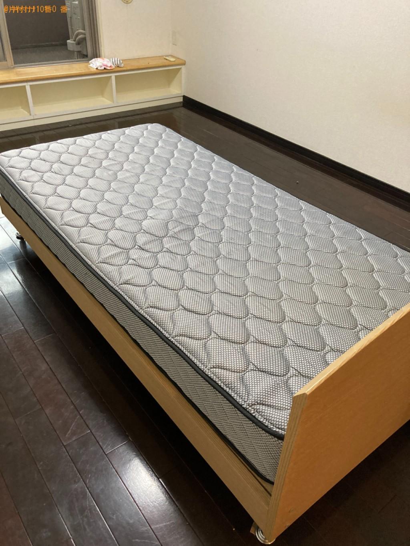【大分市】シングルベッドの出張不用品回収・処分ご依頼 お客様の声