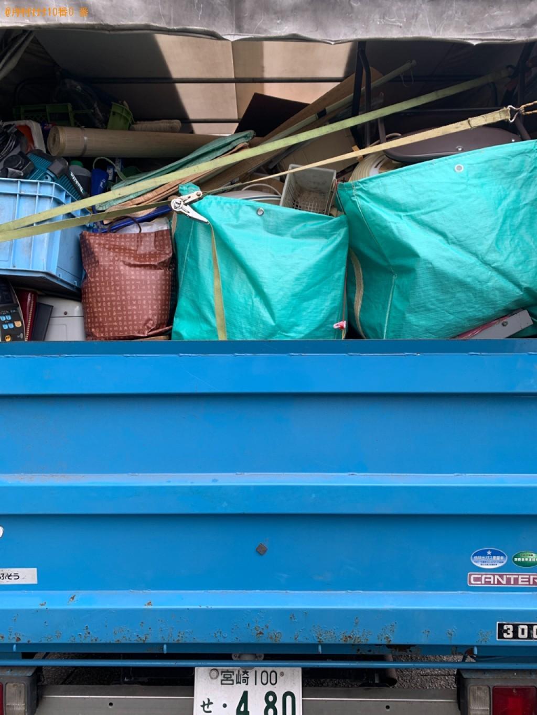 【西都市】2tトラック一杯以内の出張不用品回収・処分ご依頼