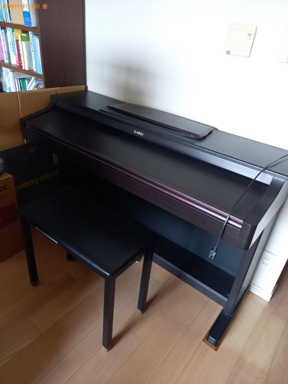 【世田谷区】電子ピアノなどの出張不用品回収・処分ご依頼