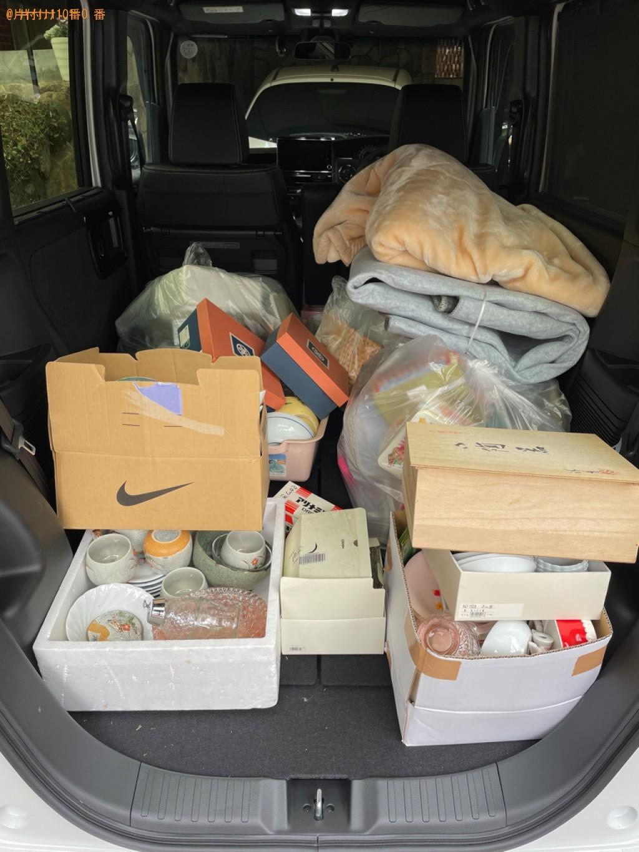 【京都市北区】細々とした物などの出張不用品回収・処分ご依頼
