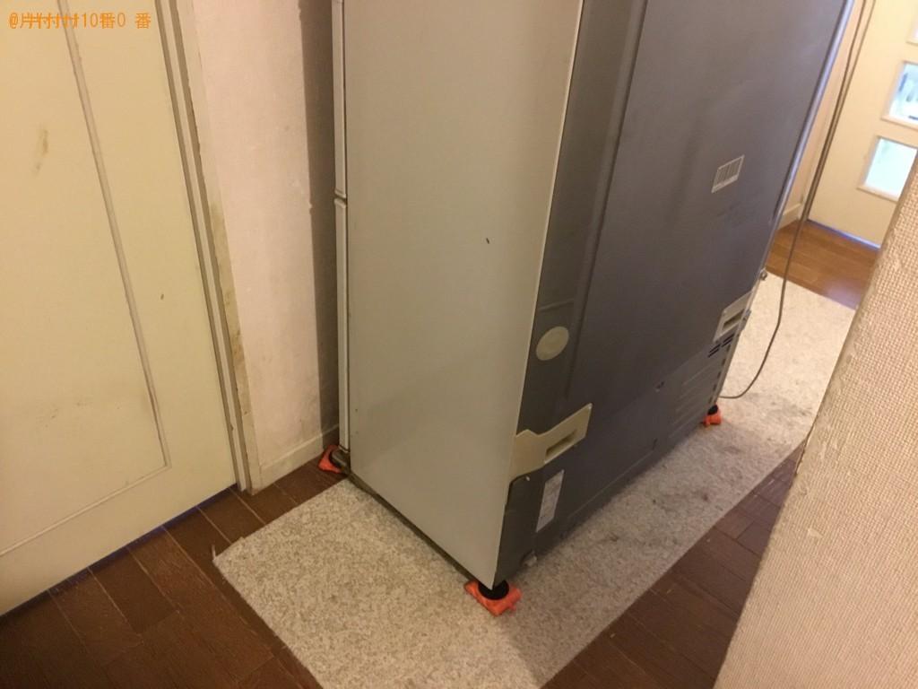 【神戸市中央区】171L以上冷蔵庫の出張不用品回収・処分ご依頼