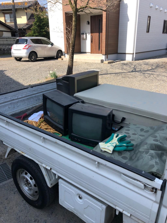 【松本市】テレビの出張不用品回収・処分ご依頼 お客様の声
