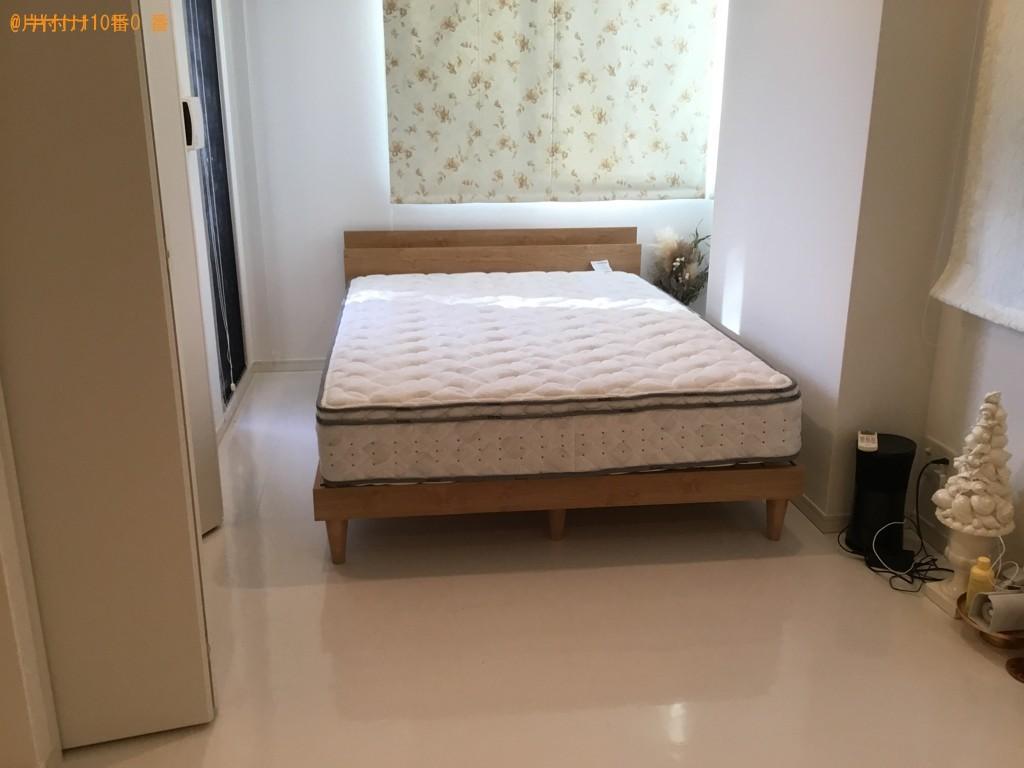 【神戸市中央区】ダブルベッド枠の組み立て作業ご依頼 お客様の声