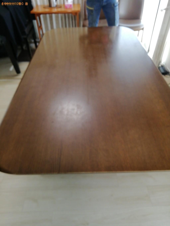 【京都市右京区】ダイニングテーブルの出張不用品回収・処分ご依頼