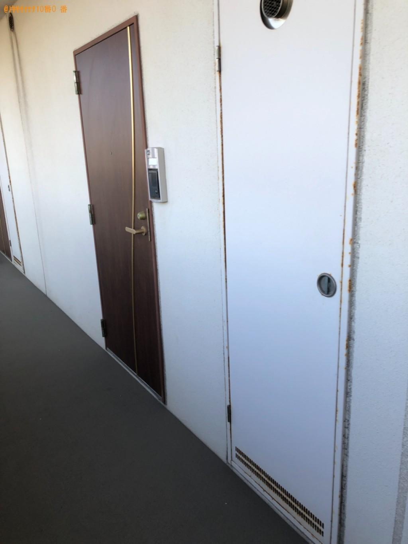 【北九州市八幡西区】ベッド枠のみの出張不用品回収・処分ご依頼