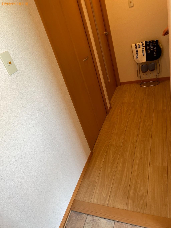 【木津川市山城町】ダブルベッドの出張不用品回収・処分ご依頼