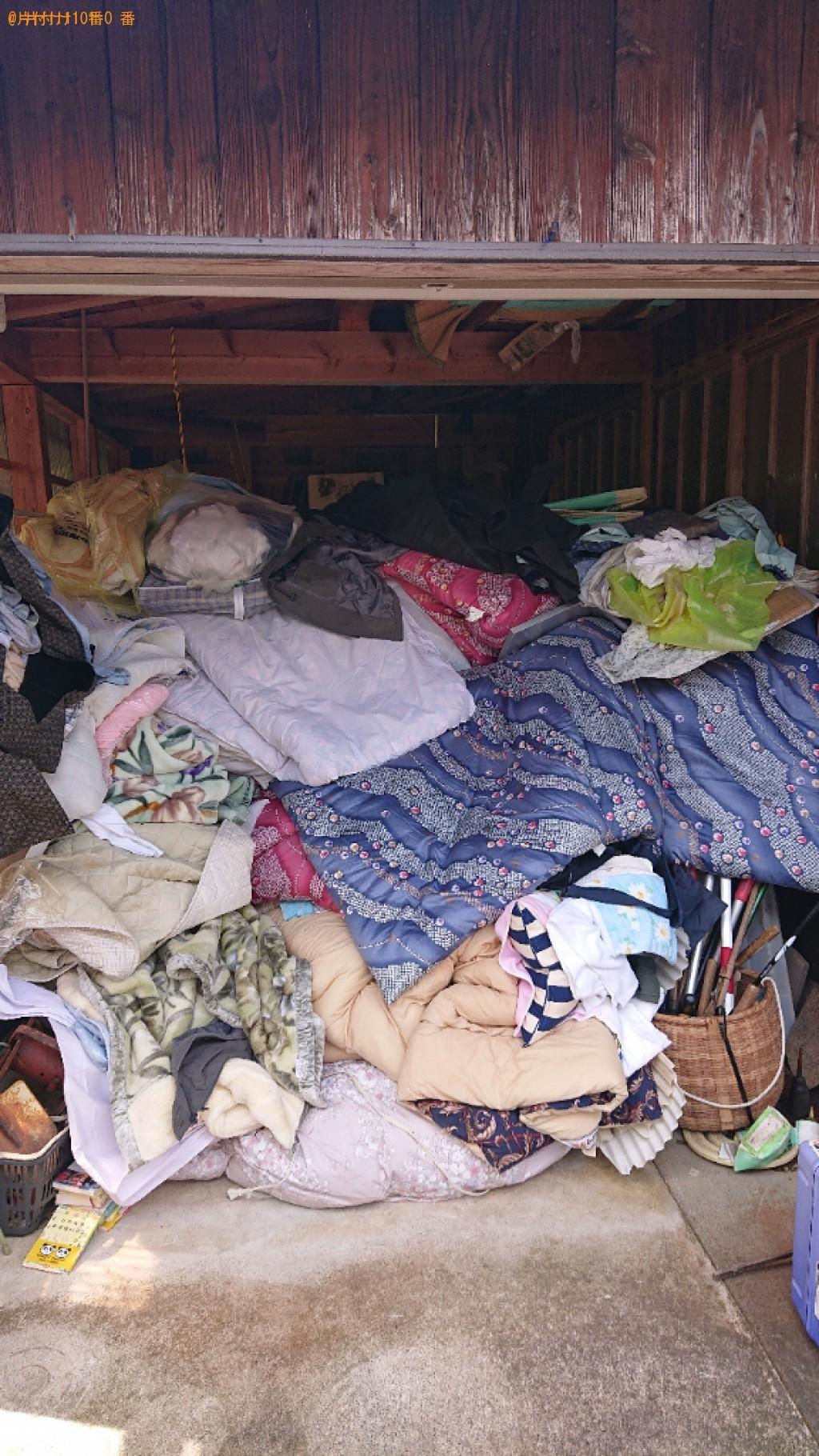 【小浜市】トラックパックでの出張不用品回収・処分ご依頼