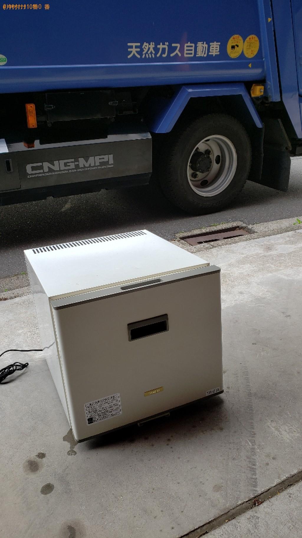 【千葉市中央区】170L未満冷蔵庫の出張不用品回収・処分ご依頼