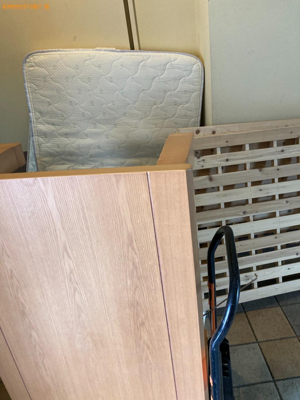 【札幌市東区】シングルベッドなどの出張不用品回収・処分ご依頼