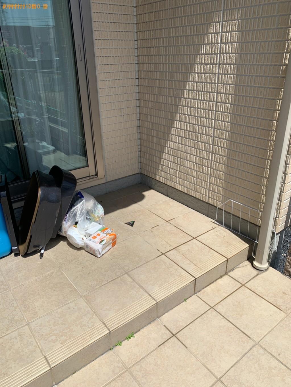 【鳥取市吉成南町】テレビ台などの出張不用品回収・処分ご依頼