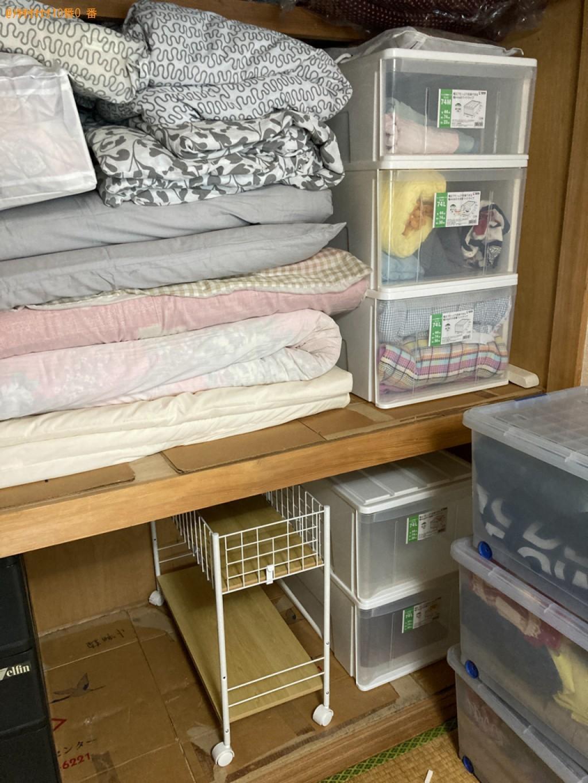 【大分市高城新町】布団・毛布などの出張不用品回収・処分ご依頼