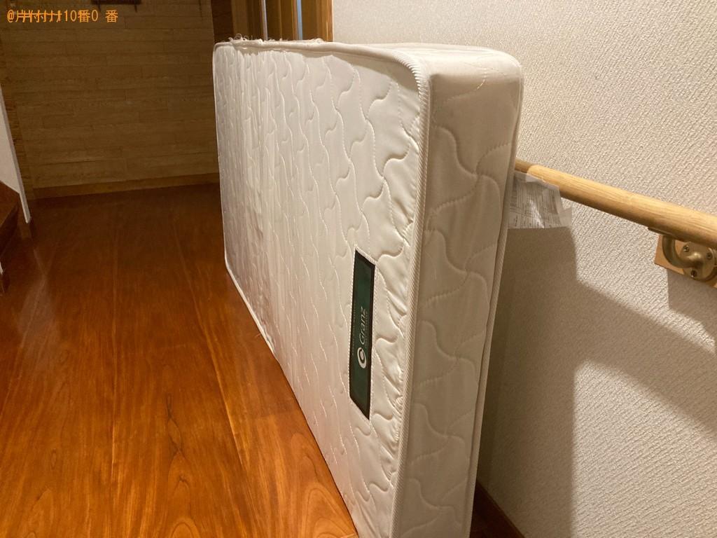 【一関市】シングルベッドマットレスの出張不用品回収・処分ご依頼