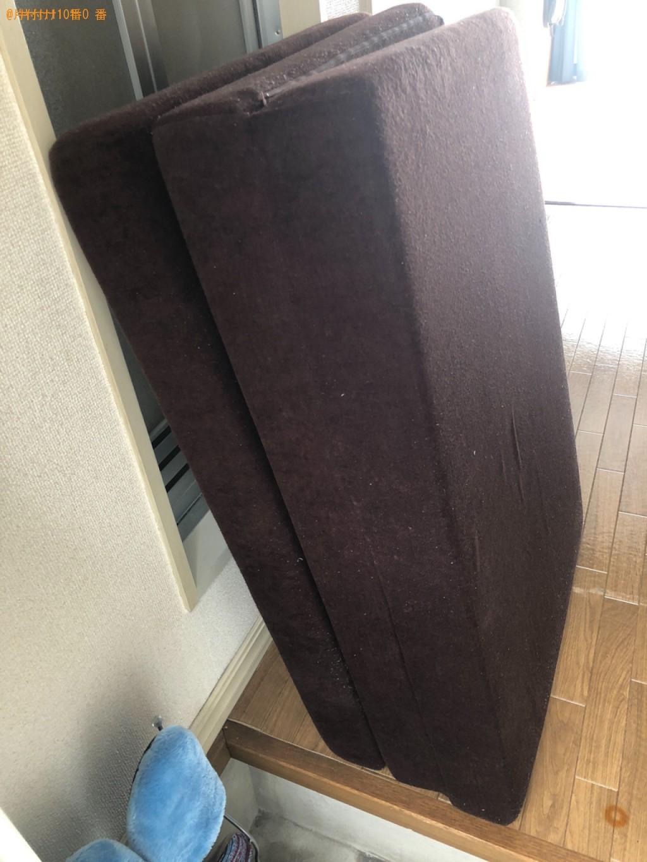 【京都市西京区】ウレタンマットレスの出張不用品回収・処分ご依頼