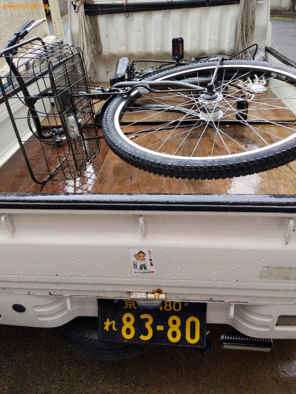 【京都市南区】自転車の出張不用品回収・処分ご依頼 お客様の声