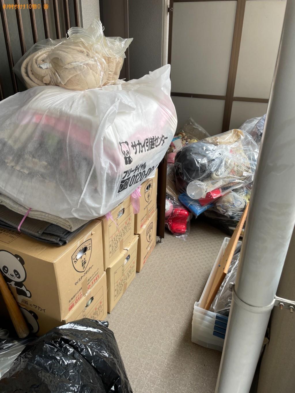 【草津市】トラックパックでの出張不用品回収・処分ご依頼