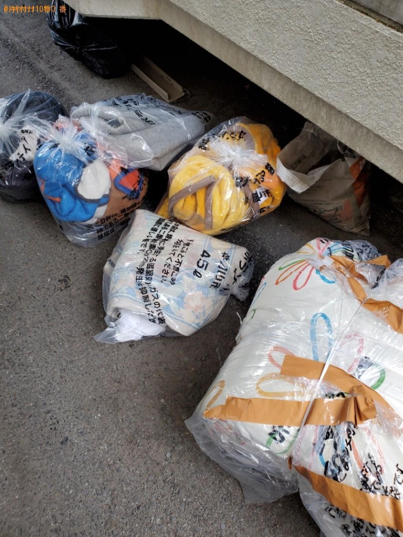 【岡山市北区】ゴミ袋に入った物などの出張不用品回収・処分ご依頼