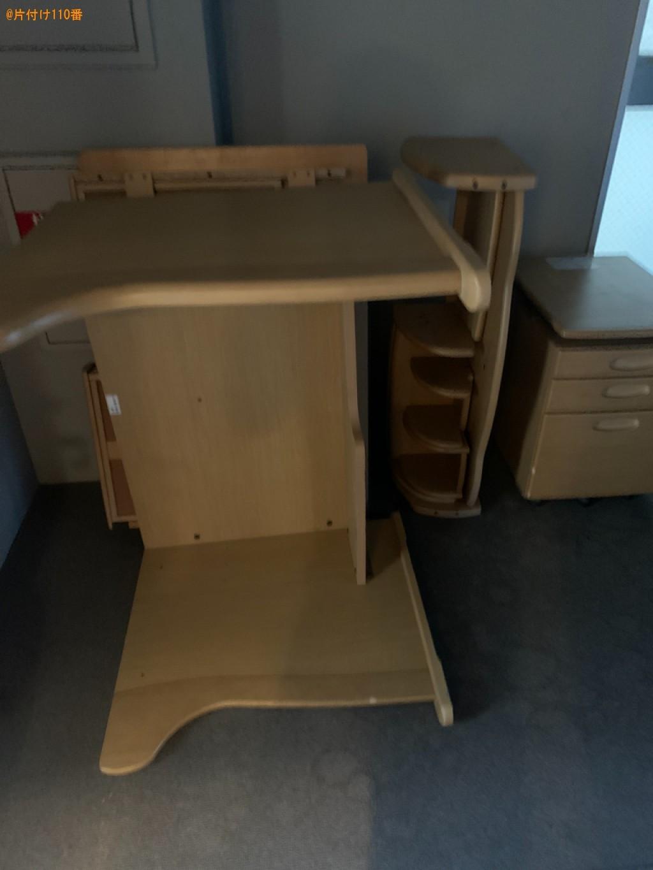 【香芝市】学習机の出張不用品回収・処分ご依頼 お客様の声