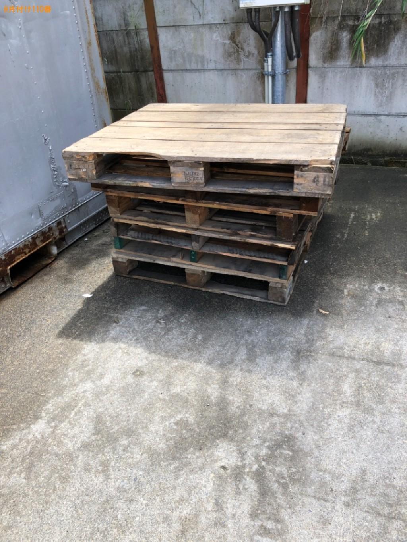 【近江八幡市長光寺町】木製パレット等の出張不用品回収・処分ご依頼
