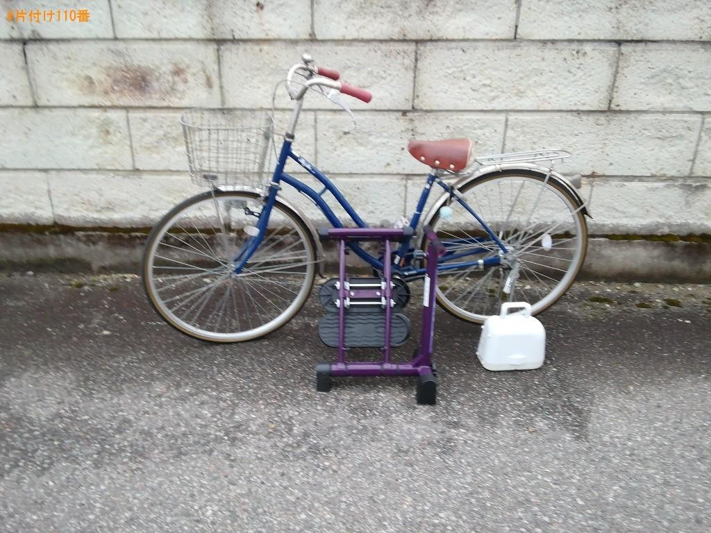 【富山市】自転車の出張不用品回収・処分ご依頼 お客様の声